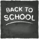 Back to school chalkboard blackboard Royalty Free Stock Images