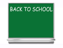 Back To School Chalkboard - Kids. Back to School Chalkboard Illustration with room for ad copy Stock Images