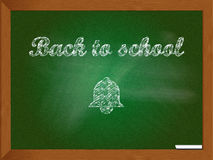 Back to school chalkboard sign Stock Photography