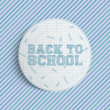 Back to School circle Banner Royalty Free Stock Photos
