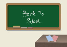 Back to School Classroom Vector Illustration Royalty Free Stock Image