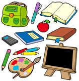 Back to school collection 1 Stock Images