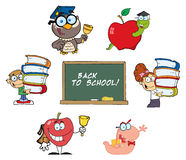 Back to School Collection Royalty Free Stock Images