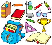 Back to school collection 4 Royalty Free Stock Photo