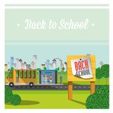 Back to school. stock illustration