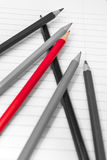 Back to School. Colour pencils. Stationery. Notebook. Stock Images