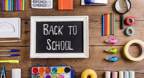 Back to school composition Royalty Free Stock Image
