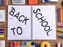 Back to school composition Royalty Free Stock Photography