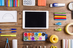 Back to school composition Royalty Free Stock Images