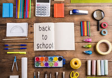 Back to school composition Stock Image