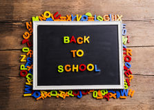 Back to school composition Royalty Free Stock Photos