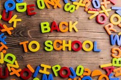 Back to school composition Stock Photography
