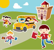 Back to School concept background Stock Photography