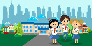 Back to school concept for banner  Stock Photography