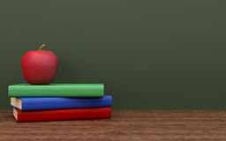 Back to school. Concept. 3d rendered illustration Stock Images