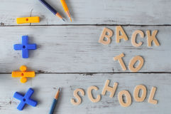 Back to school concept and education idea Royalty Free Stock Photos