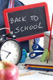 Back to school concept with inscription Stock Images