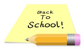 Back To School 2 royalty free illustration