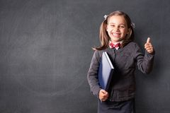 Back To School Concept, Portrait of Happy Smiling Child Student royalty free stock photography