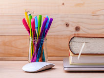 Back to school concept with school supplies Royalty Free Stock Images