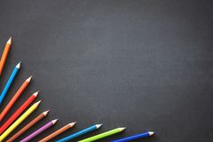 Back to School Concept with Stationery Supplies Stock Image
