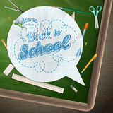 Back to school, concept still life. EPS 10 Stock Photography