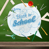 Back to school, concept still life. EPS 10 Royalty Free Stock Photos