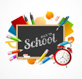 Back to School Concept. Vector Stock Photo