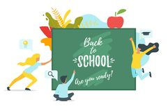 Back to School concept Royalty Free Stock Photos