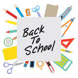 Back to School Concept. Royalty Free Stock Photos