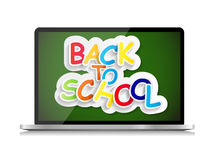 Back to School Concept Vector Illustration Stock Images