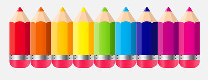 Back to School Concept Vector Illustration Stock Image