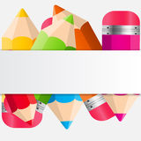 Back to School Concept Vector Illustration Stock Photos