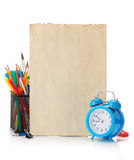 Back to school concept Stock Photography