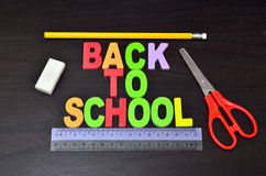 Back to school concepts Stock Photography