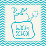 Back to School design. Back to school concept with education icons  design, vector illustration 10 eps graphic Stock Photography