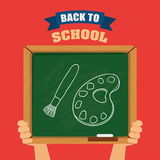 Back to school design Stock Photography