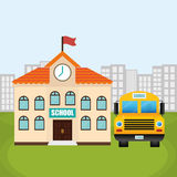 Back to school design Royalty Free Stock Images