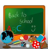 Back to School Design Elements Stock Photography