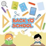 Back to School Design Elements. This back to school inspired set is full of illustrations that can be used separately and as design elements for your creative vector illustration