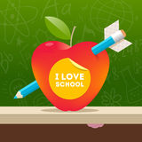 Back to school design Royalty Free Stock Image