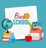 Back to school design Royalty Free Stock Photos