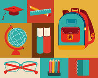 Back to school design Royalty Free Stock Photos