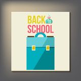Back to school design template Stock Photography
