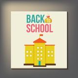 Back to school design template Stock Photos