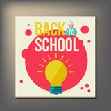 Back to school design template Stock Photo