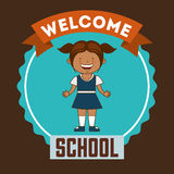 Back to school design Royalty Free Stock Photo