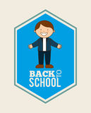 Back to school design Stock Image