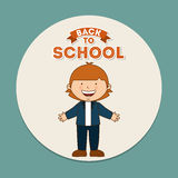 Back to school design Stock Photos