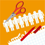 Back to school. Design, vector illustration eps10 graphic Royalty Free Stock Photography